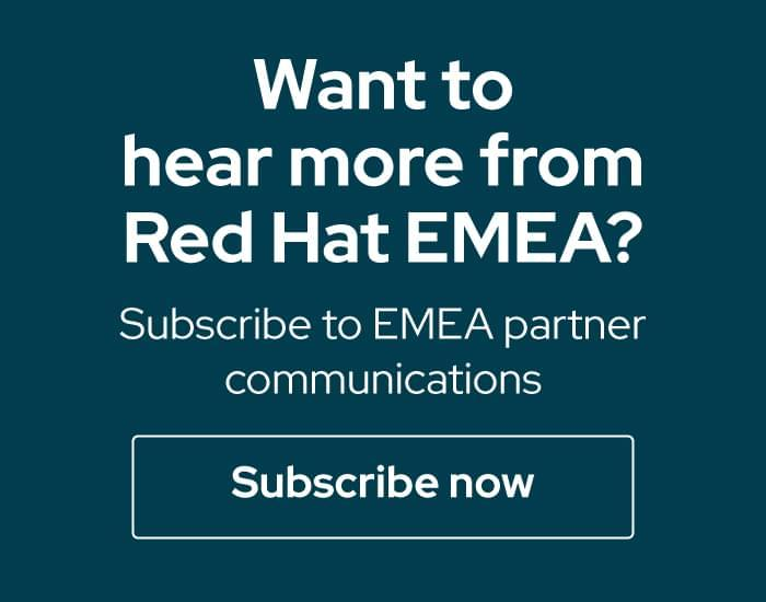 Subscribe to EMEA Partner Communications